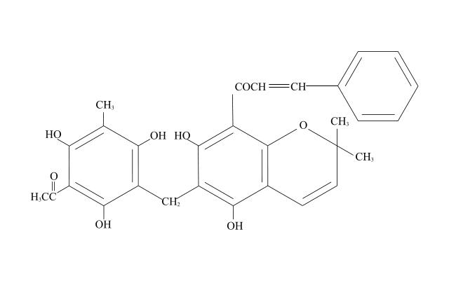 rottlerin molecule : molecule diagram - findchart.co
